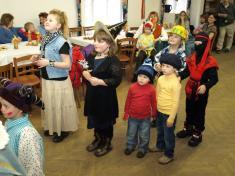 Dětský maškarní karneval 2009